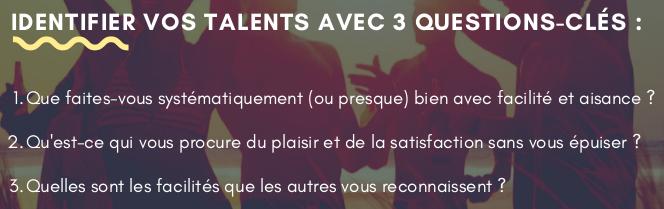 3 questions pratiques pour identifier vos talents au boulot - EDIFIA