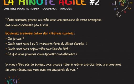 "Edifia : la minute agile ""café"""
