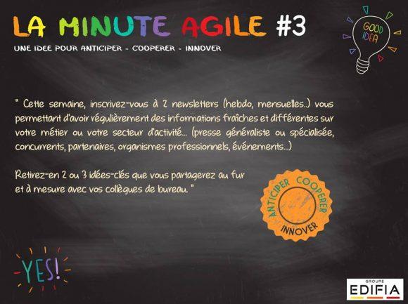 Être agile, c'est cultiver son ouverture pour savoir repérer les bonnes idées là où elles se trouvent !