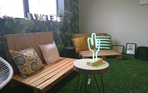 Une réussite qui participe de notre projet d'entreprise : la Jungle room cocréée !